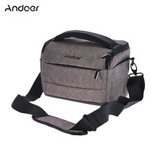 DSLR Camera Bag Fashion Polyester Shoulder Bag Camera Case for Canon Nikon Sony
