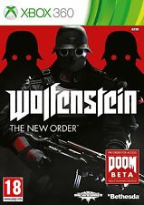 Wolfenstein The New Order - XBOX 360 Excellent - 1st Class Delivery