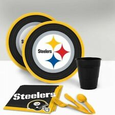 Pittsburgh Steelers Tableware Party Pack for 16. Best Price