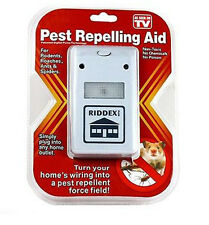 Riddex Plus Pest Repeller As Seen on TV Aid for Rodents Roaches Ants US Seller