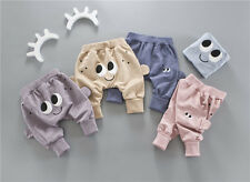 Baby Toddler Boys Girls Cotton Print cartoon Leggings PP Pant casual pants 0-4Y