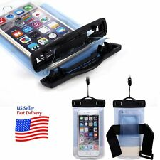 Hot Waterproof Underwater Pouch Dry Bag Phone Case Cover+Neck Strap Blue Gift