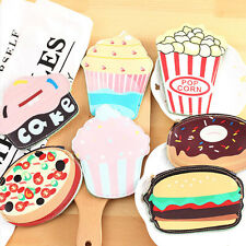 Fashion Women Girl PU Coin Purse Portable Mini Wallet Cute Coin Purse Cake Cream