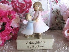Angel Ornament Sentimental Saying ~A Daughter Is A Gift Of Love ~ Figurine ~