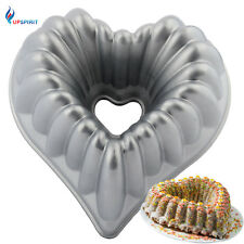 10 Inch Cast-Aluminum Heart Shape Baking Pan Non-stick Heart Shape Bakeware Mold