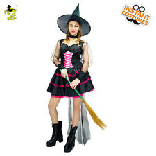 Adult Hot Sexy Witch Costume Women Halloween Cosplay Fancy Dress Costumes