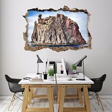 3D Islands Rock 77 Wall Murals Stickers Decal breakthrough AJ WALLPAPER AU Lemon