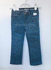Baby Gap Girls Leopard Print Skinny Jeans NWT 2T, 4T or 5T