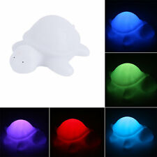 Plastic 7 Color Changing Animals LED Night Light Lamp with Battery Party WU