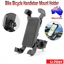 Motorcycle Bike Bicycle Handlebar Phone Mount Holder Case For iPhone 6 7 Samsung