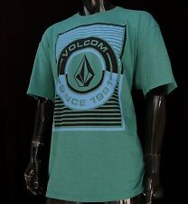 New VLC-101 Volcom Popper Surfing Team Classic Slim Fit Mens Sport T Shirt