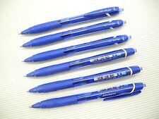 6Pcs Uni-Ball JetStream SXN-150C Retractable 0.7mm Ball Point Pen, BLUE
