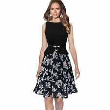 3 Color Stylish Polka Dot Chiffon Material Floral Printed Dress For Women