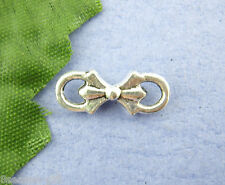 Wholesale Lots Gift  Silver Tone Connectors Findings 5x15mm Wholesale