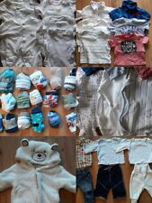 0-3 month baby boys clothes bundles (Tops, bottoms, outdoor wear, accessories)