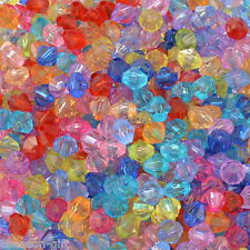 Wholesale Lots Gift Mixed Acrylic Bicone Beads 5301 5x5mm