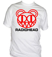 fm10 men's t-shirt RADIOHEAD music band punk rock music