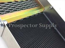 Ribbed Rubber Gold Sluice Box V Matting -Also 4 Dredge, Highbanker & Beachboxes