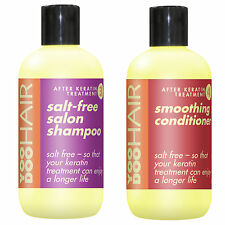 SALT FREE SHAMPOO & KERATIN CONDITIONER, Manchester Hairdresser Collect only