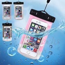 Unisex Showerproof Underwater Pouch Bag Dry Case Cover For Cell Phone / iPhone