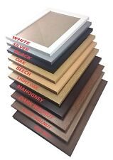 Picture photo frame Maxi large poster frame wooden texture  in various sizes