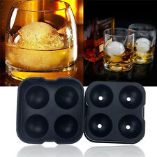 Whiskey Silicon Ice Cube Ball Maker Mold Sphere Mould Party Tray Round Bar BG