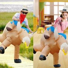 Anself Fun Cattle Inflatable Blow Up Suit Party Fancy Costume Outfit Unisex S6S7