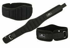 High Quality Embossed Back Support Weight Lifting Fitness Gym Wide Neoprene Belt