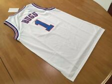 Bugs Bunny #1 Space Jam Looney Tune Squad Basketball Jersey White S M L XL XXL