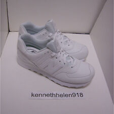 NEW BALANCE MENS ML574 WEX ROUND TOE LEATHER SNEAKERS SHOES WHITE SIZE 8.5, 9