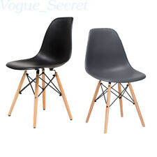 2 x Eiffel Chair Retro DSW Cafe Office Home Dining Furniture Chairs Wooden Legs