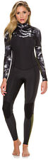 New Billabong Women's 3/2Mm Surf Capsule Salty Dayz Fullsuit Black
