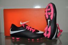 Nike Jr Bravata FG-R Kids Soccer Cleat 749906-016 Black/White/Pink NIB