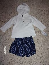 NWT Carters Baby Girls 2 Piece Outfit Size 6 and 12 Months