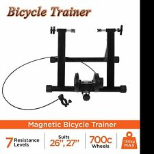 New Foldable Indoor Bicycle Bike Turbo Trainer Fan Fly Wind Wheel Quiet Black YI