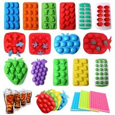 Silicone/Rubber Bar Ice Cube Chocolate Mold Mould Tray Ice Cube Tray Mold New