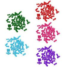 50pcs Adjustable Metal Cuffs Dreadlocks Beads Braiding Hair Decorations