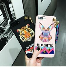 For iPhone 6 Cute Cartoon Silicone PC Case Pattern Cover Soft Shockproof  Skin