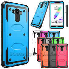For LG G Stylo LS770 G4 Stylus Hybrid Shockproof Protective Hard Case Cover