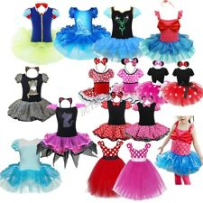 Minnie Mouse Snow White Cat Girl Birthday Party Costume Ballet Tutu Outfit Dress