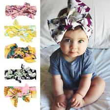 Bow Headband Kid Girl Baby Toddler Floral Hair Band Accessories Headwear Lot