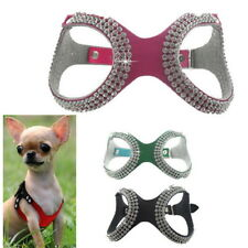 Pet Small Teacup Dog Harness Soft Vest Puppy Collar chihuahua yorkie S/M/L VB