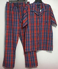 Polo Ralph Lauren Men's Sleepwear Pajama Set Lounge Pant Shirt Cotton M L XL New
