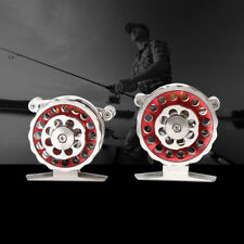 2 Ball Bearing Machined Aluminum Alloy Steel Fly Spool Fishing Reel Accessory SG
