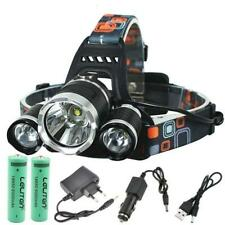 10000Lm LED Headlight Headlamp Light 18650 battery T6 Xm Head Cree Lamp Charger