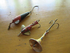Three Vintage Unknown Lures Tackle Box Find!!