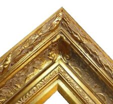 "5.5"" WIDE Gold Antique family Oil Painting Wood Picture Frame 668G frames4art"