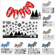 Nail Art Stamp Template Halloween Design Stamping Image Plate Stencil