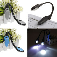 Hot LED Flexible Clip On Travel Book Reading Bright Light Lamp Torch Camping