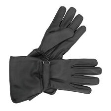 Milwaukee Motorcycle Gauntlet Leather Riding Gloves M7053